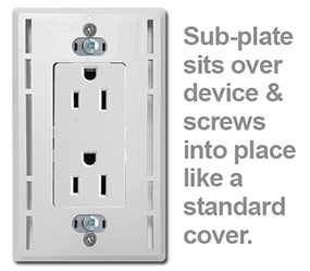 How to Install Screwless Lutron Sub-Plate