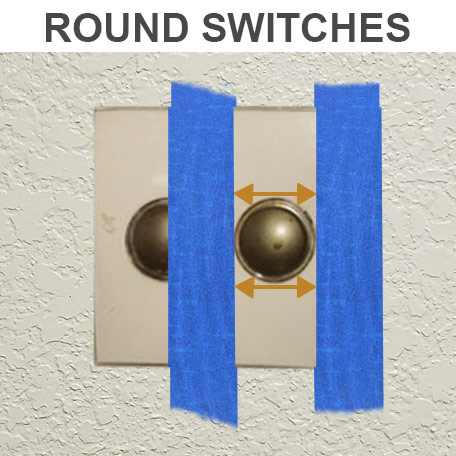 Measure Round Switches for Cover
