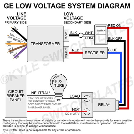 How to Wire GE Transformer Relays & Switches