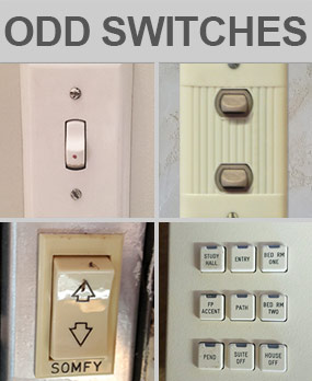 More Odd Light Switches & Outlets