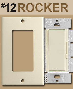 Identify Rocker Dimmer Opening