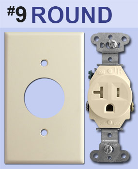 Identify Round Outlet Opening