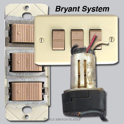 Bryant Low Voltage Lighting Parts in Older Home