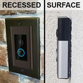 Installed Ring Doorbell Examples