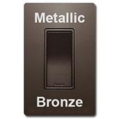 Metallic Bronze Switches &Covers
