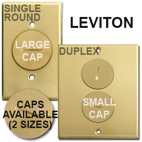 Leviton Floor Box Covers Caps