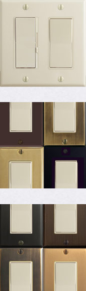 Light Almond Switches & Variations