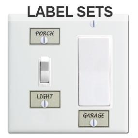 Light Switch Label Sets