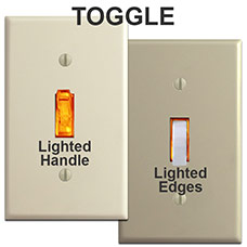 Lighted Toggles