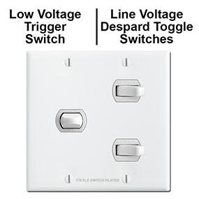 Line & Low Voltage Despard Switches