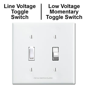 Combining Line & Low Voltage Switches