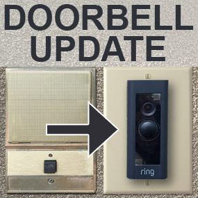Intercom Speaker Covers for Video Doorbell Installation