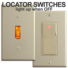 Locator Light Switches