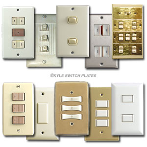 Low voltage system comparison of switch plate types
