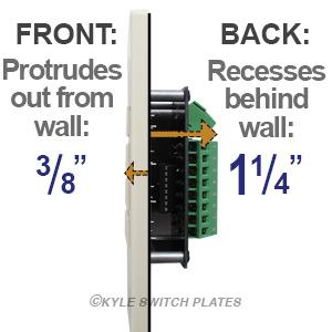 Low Voltage Switch Depth Comparison