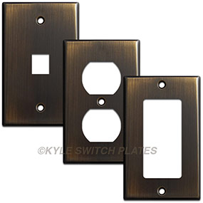 Finishes Match Over Time  sc 1 st  Kyle Switch Plates & Difference Between Plastic vs. Metal Switch Plates