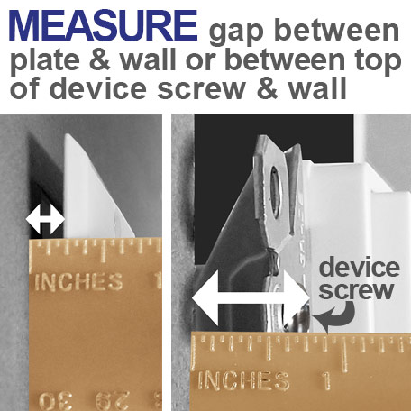 Measure Gap Between Device & Wall