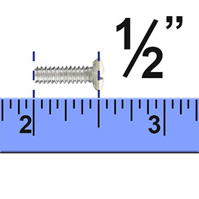 measuring screws for outlet covers