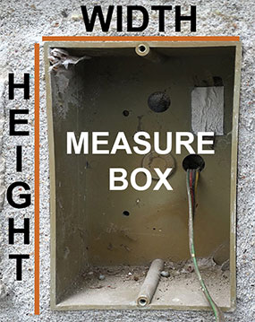 Measure Intercom Box Dimensions