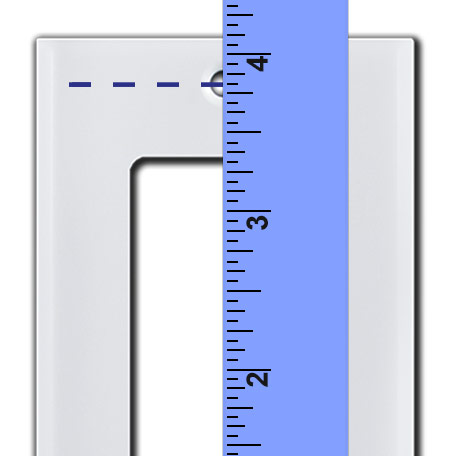 Measure Screw Spacing