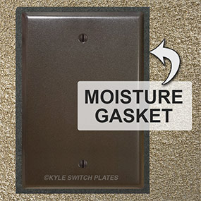 Moisture Gaskets Seal Exposed Intercom Box