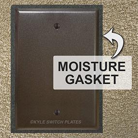 Moisture Gaskets Seal Exposed Intercom Box