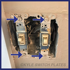 Move Devices Away from Switch Plate Obstruction