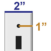 2 Inch Wide Light Switch Covers