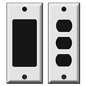 Narrow Stacked Switch Plate Options