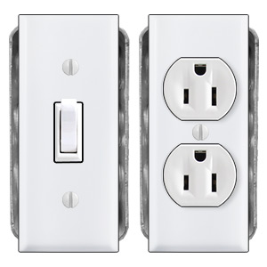 Narrow Switch Plate Solutions