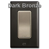 Nickel Electrical Devices with Bronze Plate & Ferro Gray Metallic Wall