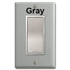 Nickel Electrical Outlets & Light Switches | Kyle Switch Plates