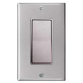 Nickel Switch - Polished Stainless Plate
