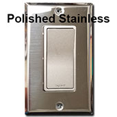 Nickel Switch & Polished Stainless Steel Plate