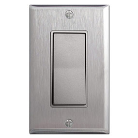 Metal Light Plates Extraordinary Stainless Steel Light Switch Plates Outlet Covers Rocker Switchplate Review