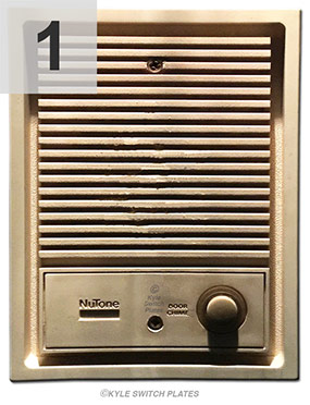 NuTone Door Chime Cover