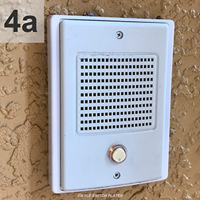 Nutone NF300DWH Doorbell Intercoms