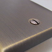 Wall Plates in Oil Rubbed Bronze Finish