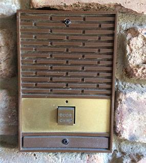 Old Doorbell on Brick House