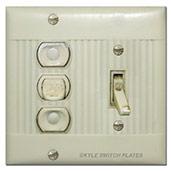Vintage Sierra Brand Lighting Switches