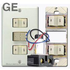 ... Low Voltage Lighting Systems. Original Style GE Switches  sc 1 st  Kyle Switch Plates & Low Voltage Lighting System in Older Home - Identify Your Brand