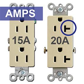 15A vs 20A Outlets
