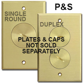 Pass & Seymour Floor Outlet Cover Plates