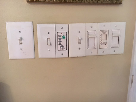 Fix Your Piecemeal Switch Plate