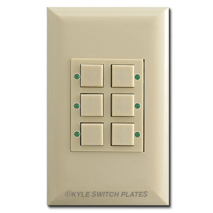 Remcon Pilot Light Switch Replacement Option - Touch-Plate Switches
