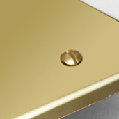 Polished Brass Faceplates