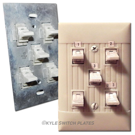 Pyramid Low Voltage Switches & Wall Plate Covers