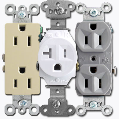 Electrical receptacle types and descriptions