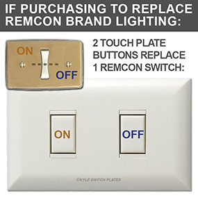 5002 Unit Replaces 1 Remcon Light Switch