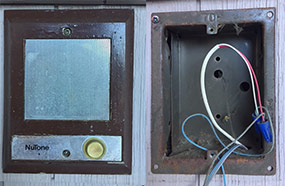 Remove Old Doorbell Intercom Speaker